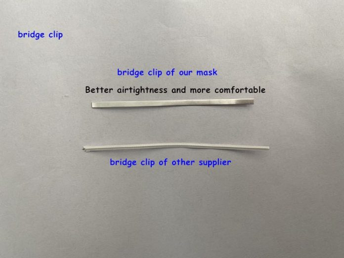 3 Ply Surgical Masks More Flexible and Broad Wire Bridge for nose