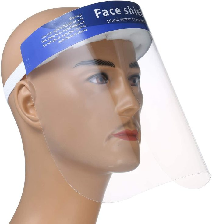 Face Shield Anti-Saliva-Right Side View