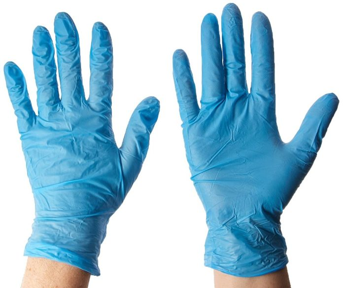 Soft Nitrile 100% Latex Free Powder-free Disposable Medical Examination Nitrile Glove