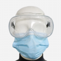 Safety eye glasses for hospital and laboratory