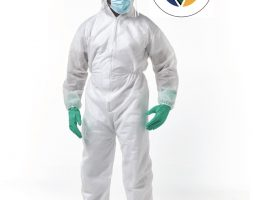 SPEAR 1 COVERALL – Disposable protective coverall 50 GSM standard with hood