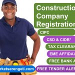 Construction Tender-Ready Company Registration