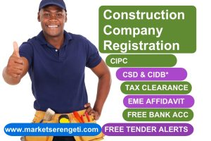 Construction Tender Ready Company Registration