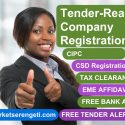 Tender-Ready Company Registration