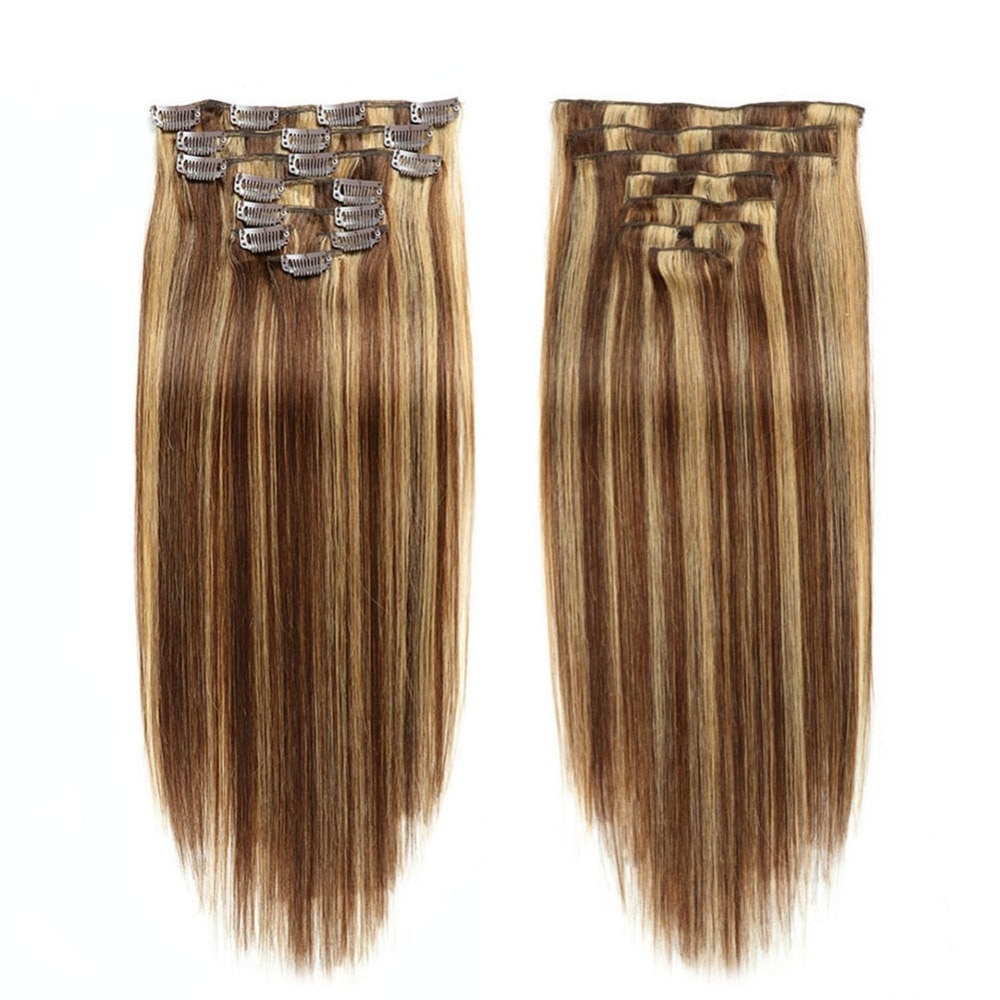 Full Head Hair Extension 7 Pcs Set