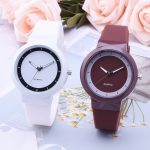 Women's Sports Watch with Silicone Strap