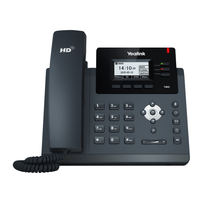 Yealink SIP-T40G with 3 Lines & HD Voice