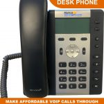 VoLTE/VoIP Desk Phone A340 Uses SIM Card (Lay-By Available)